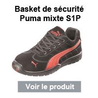 chaussure de sécurité puma s1p