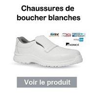 chaussures-boucher-blanches