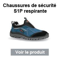 chaussures s1p respirante