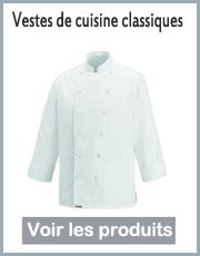 veste de cuisine classique