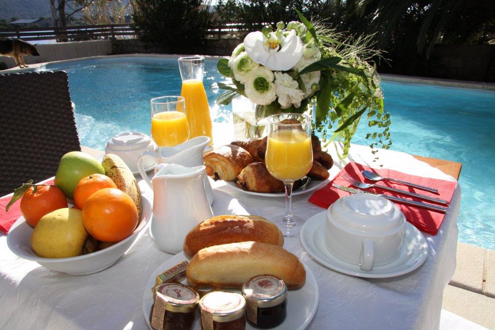 petit déjeuner Corse