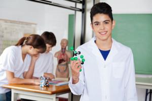 blouse de chimie