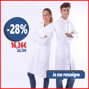blouse chimie college