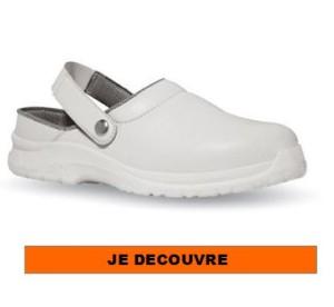 Chaussures de sécurité blanche
