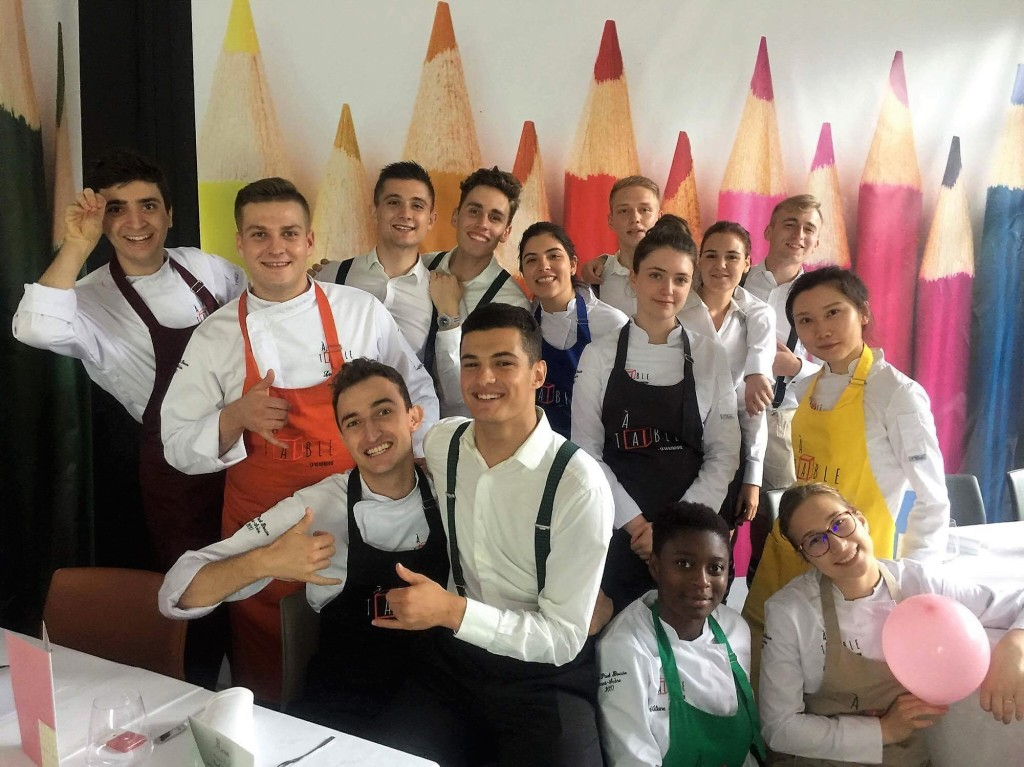 Classe de  l'institut Paul Bocuse