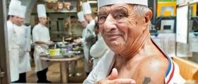Paul Bocuse, pape de la gastronomie française