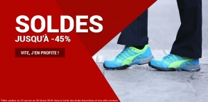 Soldes -45% chaussures