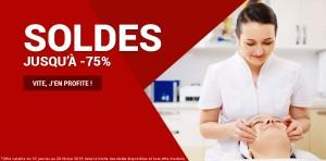 Soldes -75% massage