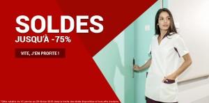 Soldes -75% hôpital