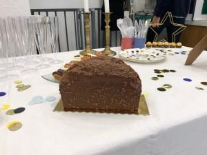 Part de Gâteau au chocolat du goûter Manelli