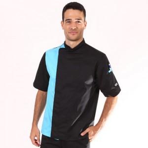 veste-de-cuisine-noir-bleu