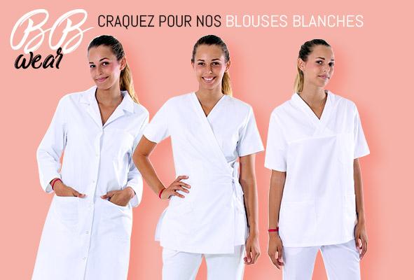 Les blouses blanches, un indispensable du métier médical