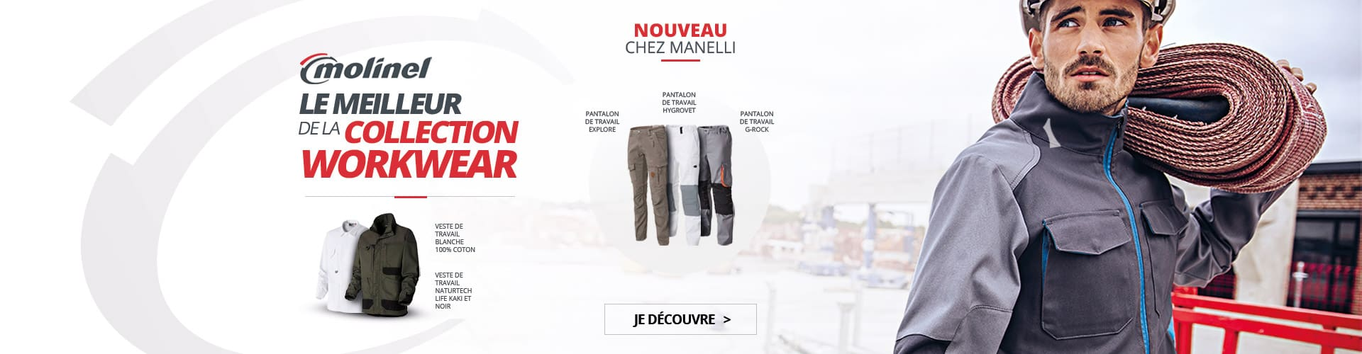 marque molinel collection workwear