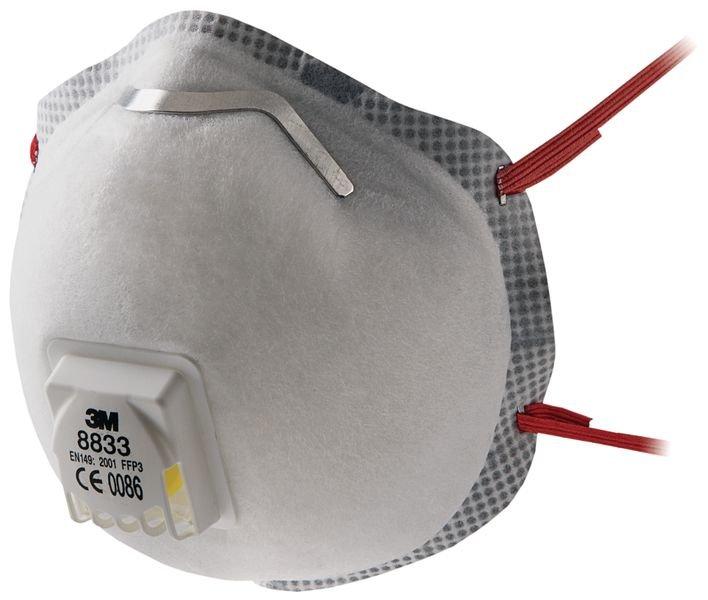 masque jetable et à usage unique FFP3